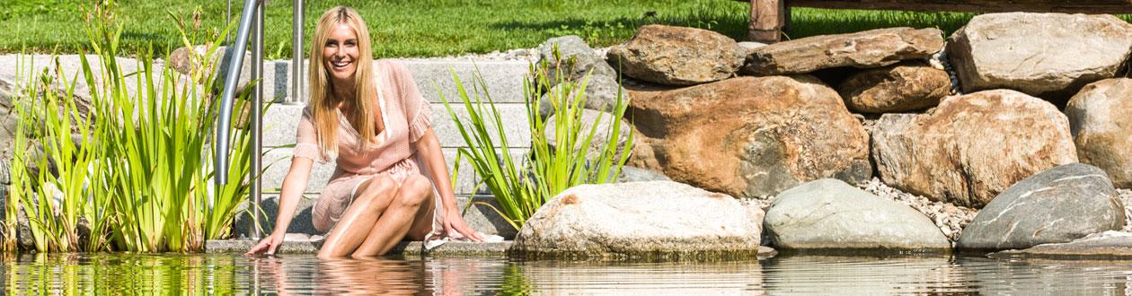 Wasserpflege im Teich
